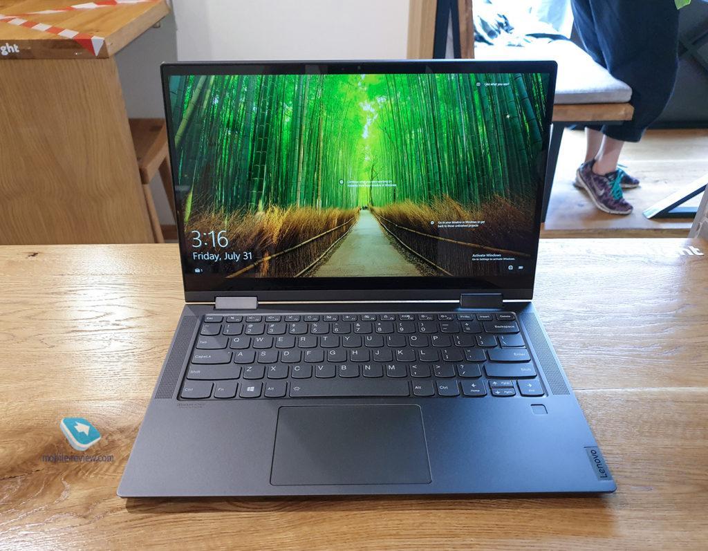 120500 Ультрабук Lenovo Yoga C740-14IML: хороший бизнес-вариант