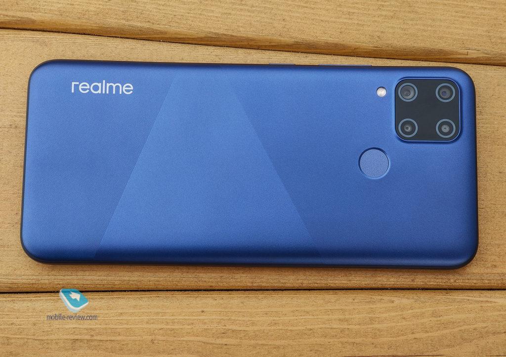 Обзор смартфона realme C15 (RMX2180)