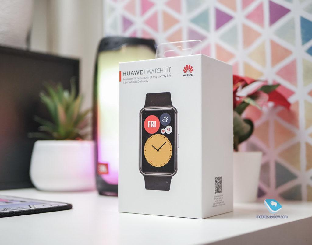 122096 Обзор Huawei Watch Fit - для тех, кто любит побольше