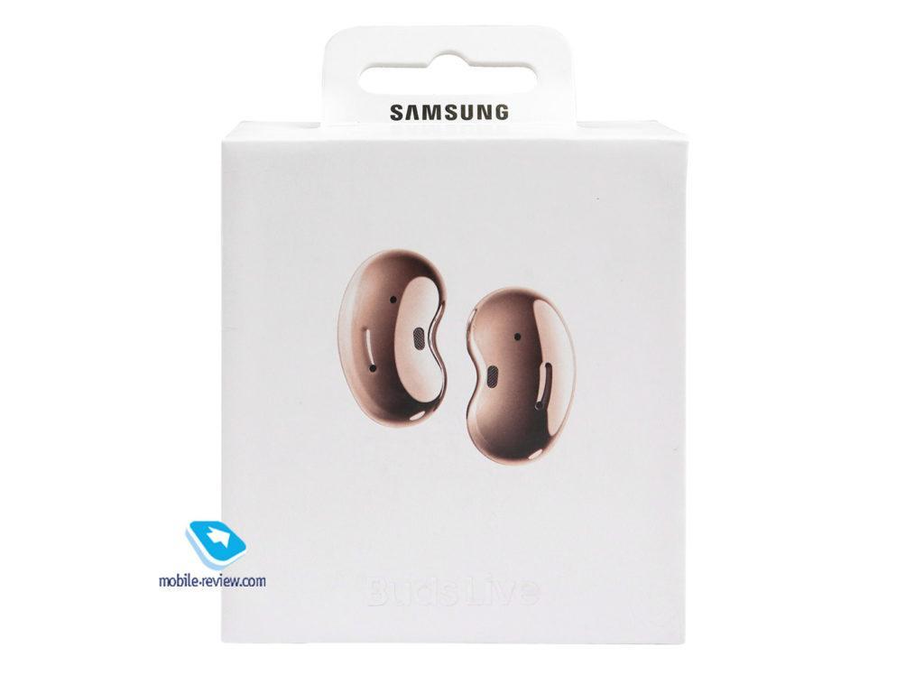 122698 Обзор TWS-наушников с шумоподавлением Samsung Galaxy Buds Live