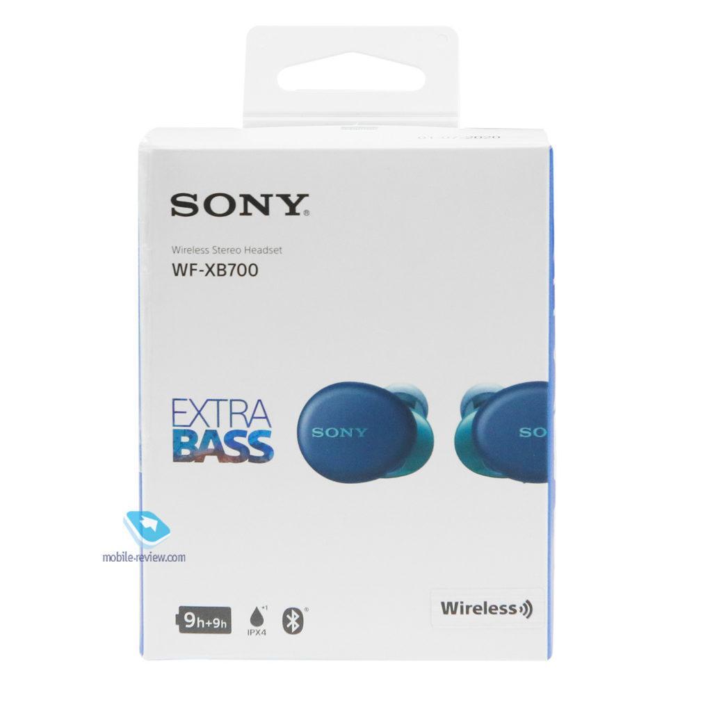125179 Обзор TWS-наушников Sony WF-XB700