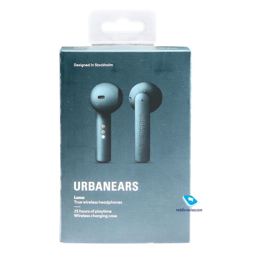 125873 Стильные и молодежные TWS-наушники Urbanears Luma