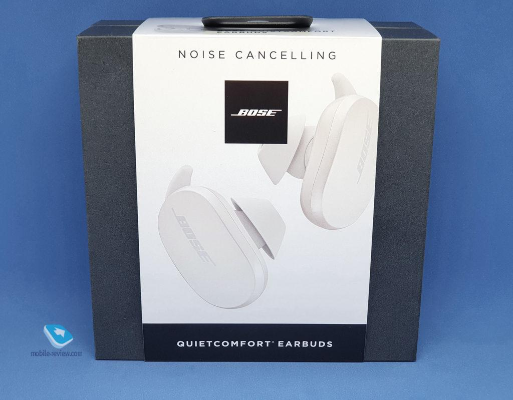 Обзор Bose QuietComfort Earbuds
