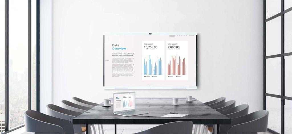 127603 Huawei IdeaHub – умная видеосвязь, интерактивная панель для офисов