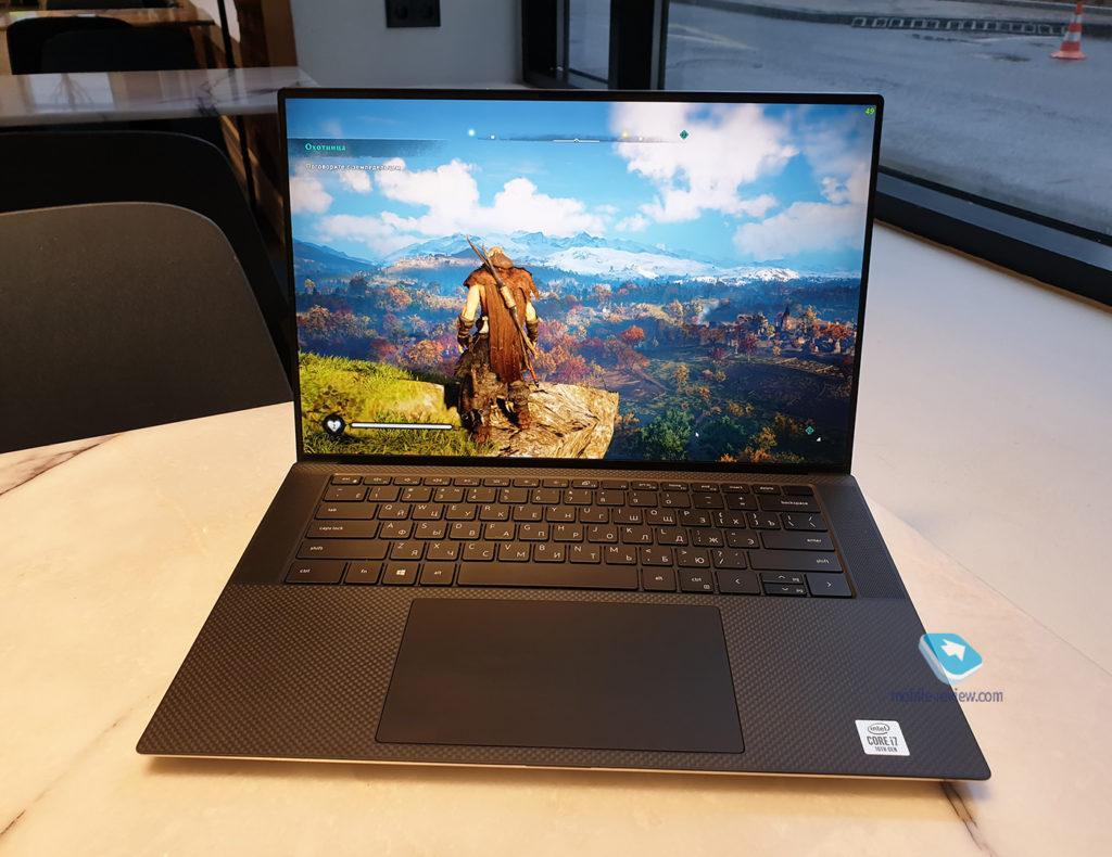 127223 Обзор Dell XPS 15 9500: идеал ноутбука 2020 года