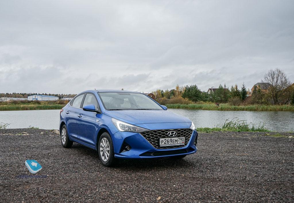 127169 Тест Hyundai Solaris. Самый популярный в России