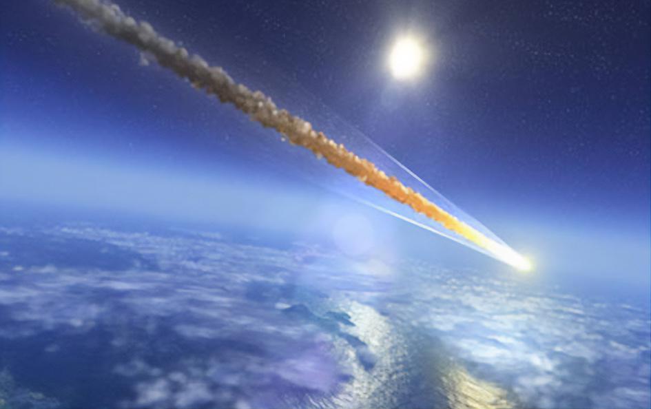 128035 В Сети появились видео падения 10-тонного метеорита в Китае