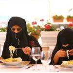 133306 Трудности религии: арабские женщины и рестораны просто несовместимы